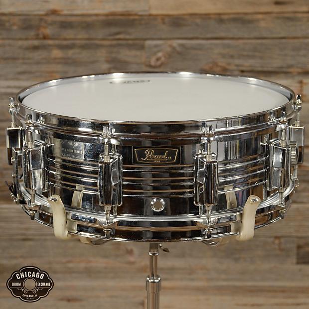 pearl 5x14 chrome over brass snare drum 70s reverb. Black Bedroom Furniture Sets. Home Design Ideas