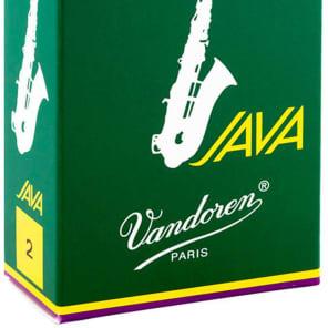Vandoren SR262 Java Series Alto Saxophone Reeds - Strength 2 (Box of 10)