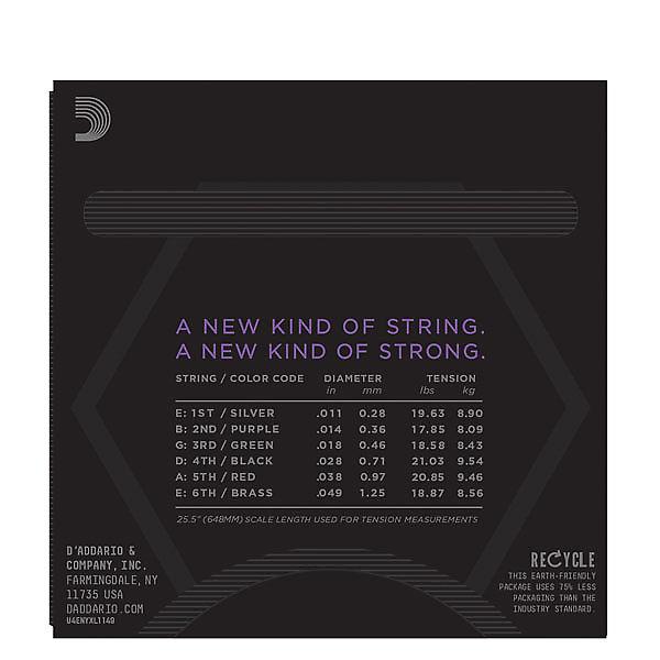 D Addario Medium Nyxl1149 Nyxl New York Electric Guitar Strings 11 49 Free Shipping