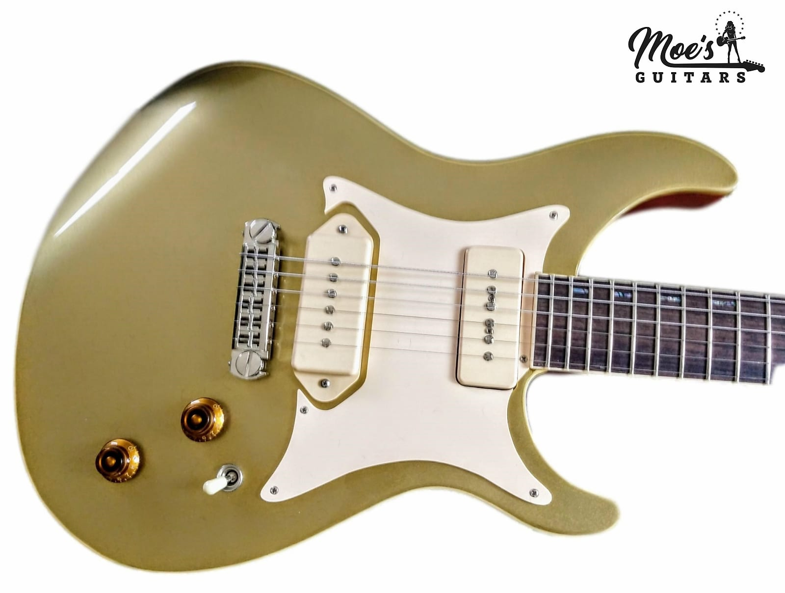 Giffin Guitars T Deluxe 2009 Video Demonstration of the  Amalfitano P90's