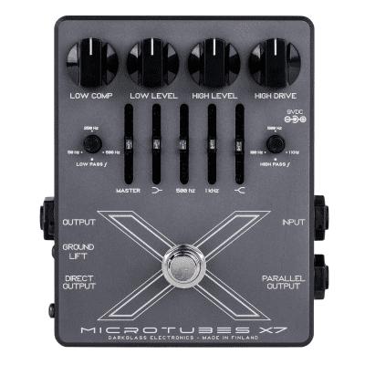 New Darkglass Microtubes X7 Bass Distortion Pedal!