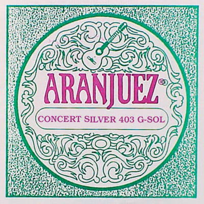 Aranjuez Concert Silver AR-403 G-3 string for sale