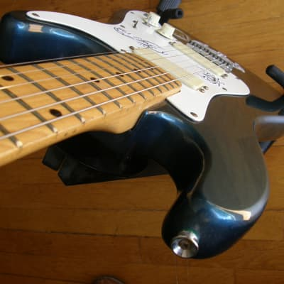 Mako TB2 Maple neck on blue body WOW! cool vibe double hums gig bag for sale