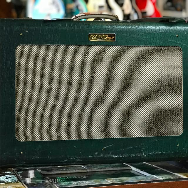 Ball Amps '40s Gator Skyliner '55 Hand-Wired Suitcase Tube Amp image