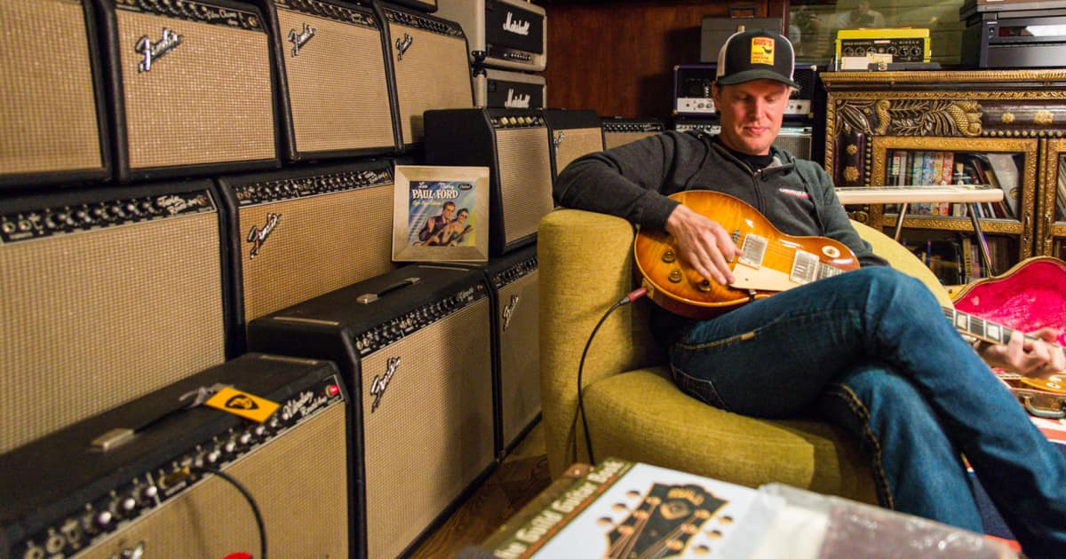 Welcome To Nerdville Inside Joe Bonamassa S Home Reverb