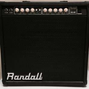 "Randall RG-80 2-Channel 80-Watt 1x12"" Solid State Guitar Combo"