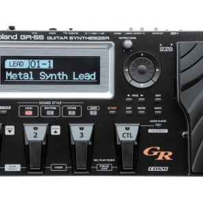 Roland GR-55 Guitar Synthesizer with GK-3 Divided Pickup - Black