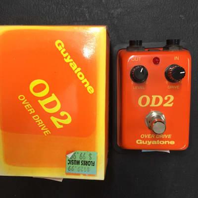 Guyatone OD2 Overdrive Orange for sale