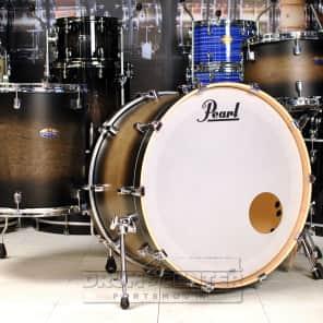 Pearl Decade Maple 3pc Drum Set Satin Black Burst