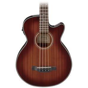 Ibanez AEGB14EMHS Acoustic 4-String Bass Mahogany Sunburst