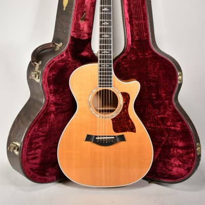 1995 Taylor 612C Natural Finish Acoustic Guitar w/OHSC for sale