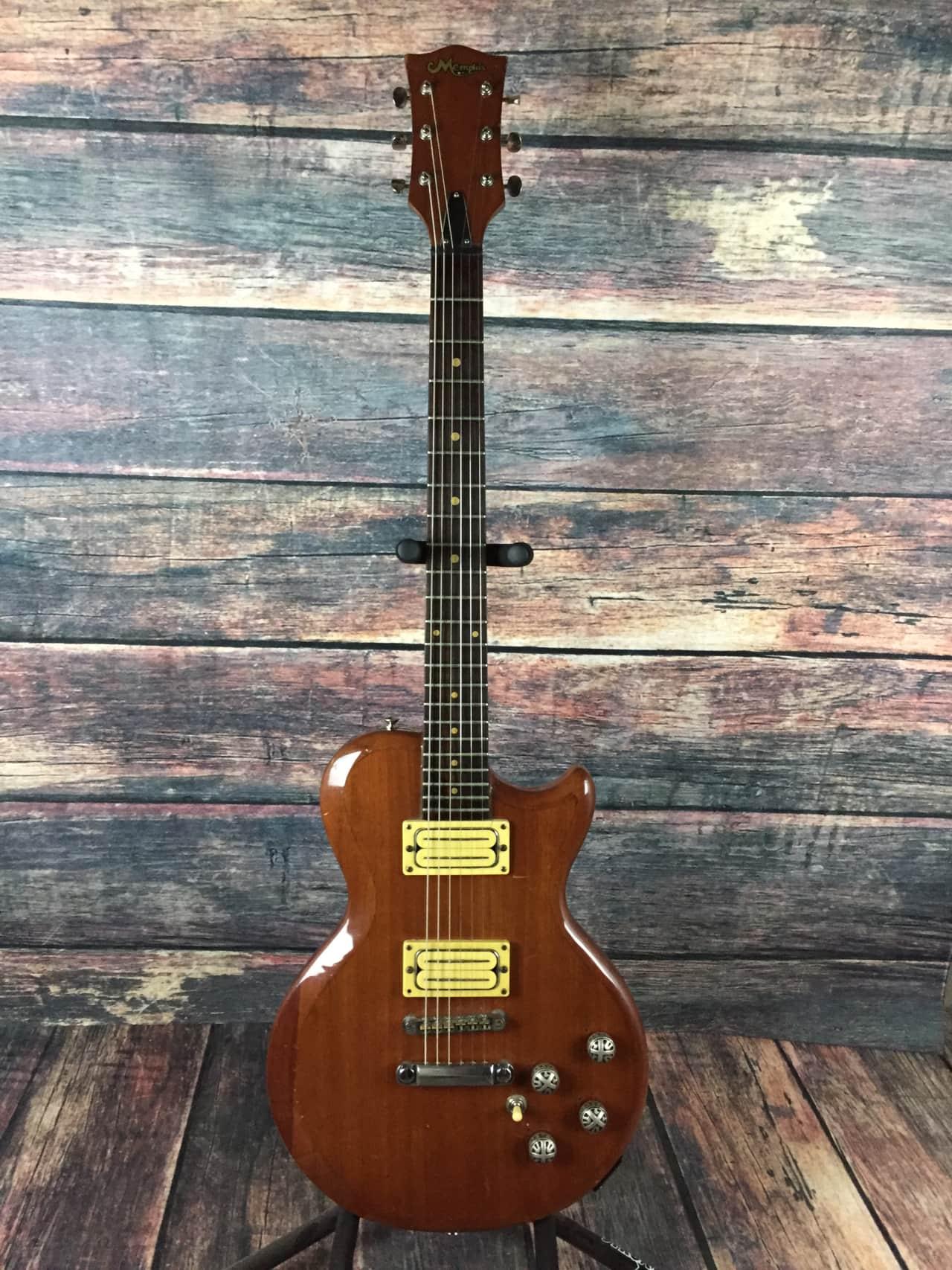 memphis singlecut electric guitar 70 39 s made in japan reverb. Black Bedroom Furniture Sets. Home Design Ideas