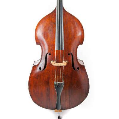 Ca. 1820 Double Bass 3/4 Flatback