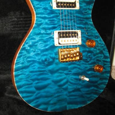 Paul Reed Smith Singlecut Trem Indian Rosewood Limited 2007 Matteo Blue for sale