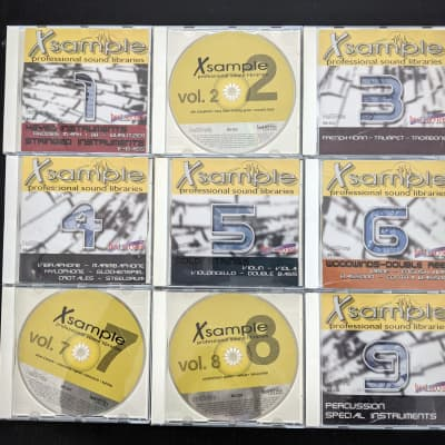 22 Orchestral Sample CD Set: E-MU & Akai Professional Sound Production Set (EOS .e4x) - MINT!