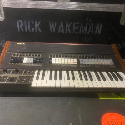 Korg Sigma Synth owned and used by Rick Wakeman of YES 1976 Natural