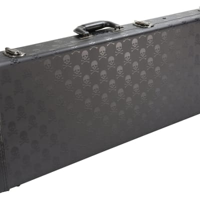 Coffin Case SKULL SERIES GUITAR CASE  BLACK VELVET  CF-SKULL900 for sale