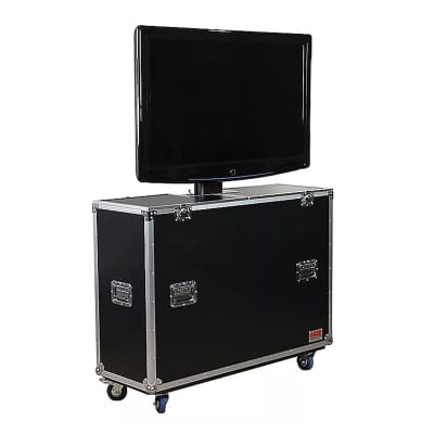 "Gator G-TOUR ELIFT 55 G-Tour 55"" LCD / Plasma Monitor ATA Road Case with Electric Lift"