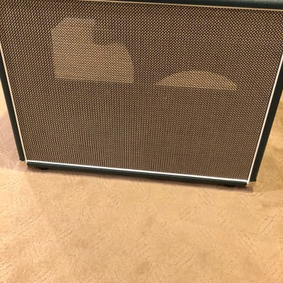 Mojotone 2x12 Unloaded Guitar Cab w/ Custom Tolex and Grill Cloth for sale