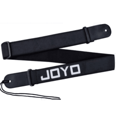 Joyo JS-01 Guitar Strap for Acoustic, Electric, or  Bass, in Black Adjustable Durable Great Quality