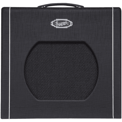 "Supro Blues King 12 Guitar Combo Amplifier (15 Watts, 1x12"")"