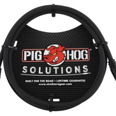 Pig Hog 3.5mm TRS to 3.5mm TRS, 9ft