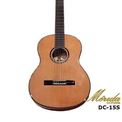 Merida extrema Diana DC-15SP Solid Canadian cedar & Maple Nylon String Classical guitar for sale
