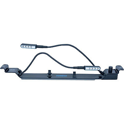 Furman Rl Led Dual Rack Mount Gooseneck Lights With Dimmer Switch