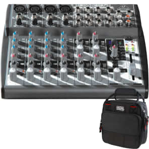 2a0808ec6c Brand New · Behringer Xenyx 1202FX 12 Ch PA Analog Mixer + Gator Padded  Equipment Carry Bag