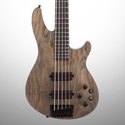 Schecter C-5 Apocalypse Electric Bass, Rusty Grey for sale