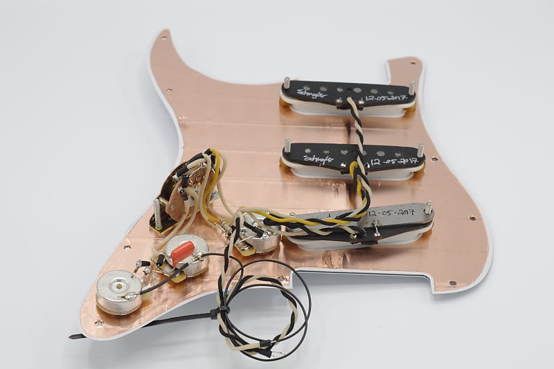 schuyler dean premium prewired strat pickguard reverb. Black Bedroom Furniture Sets. Home Design Ideas