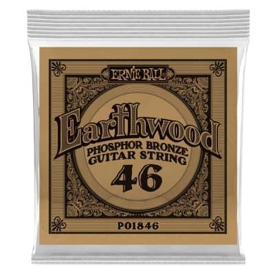 Ernie Ball 1846 Earthwood Phospor Bronze .046
