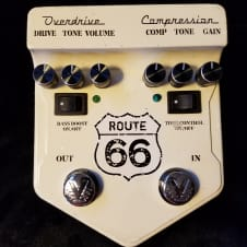 Visual Sound Route 66 V2 Compressor Overdrive Pedal