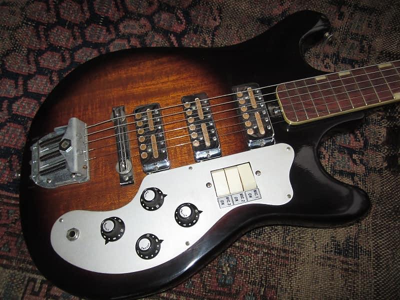 Teisco Del Ray et-300 3 GOLD FoiL pickups vintage japan guitar eg-300 1960s