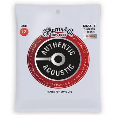 Martin Lifespan 2.0 Treated Acoustic Guitar Strings - Light - 12-54