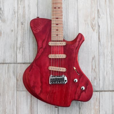 Alejandro Ramirez - o3 guitars Xenon 2020 Red Velvet for sale
