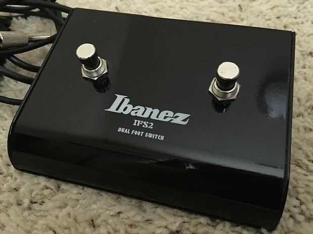 Ibanez IFS2 dual foot switch   Mark's Guitar Shop   Reverb