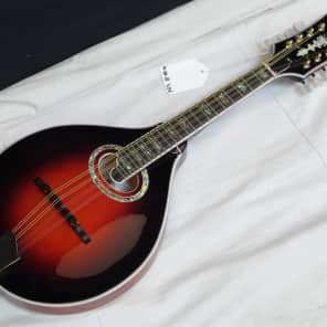 MICHAEL KELLY A-O A-style Oval acoustic MANDOLIN - FIRE SALE - Tobacco Burst for sale