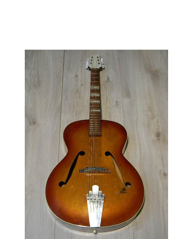vintage FRAMUS 5/53 CAPRI archtop Jazz GUITAR Gitarre Germany 1950s image