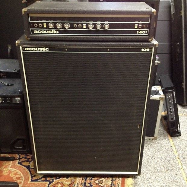 Acoustic 140 Bass Amp Head with 106 Cabinet | Reverb