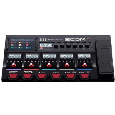 Zoom G11 Multi-Effects Guitar Processor for sale