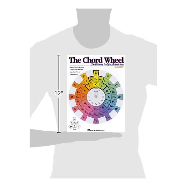 Hal Leonard The Chord Wheel Reference Tool Geartree Reverb