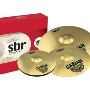 "Sabian SBR5003G SBR Performance 10"" / 14"" / 16"" / 20"" Cymbal Pack"