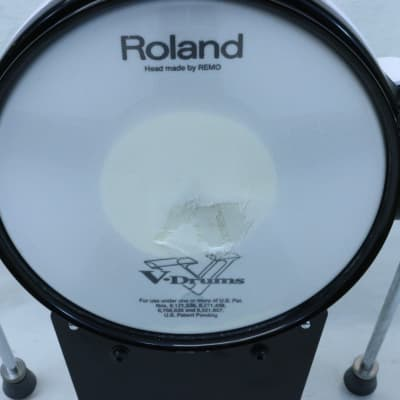Roland KD-85 WHT V-Kick Bass Drum Trigger Pad KD85