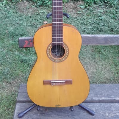 Hofner  classical guitar 1970s natural for sale