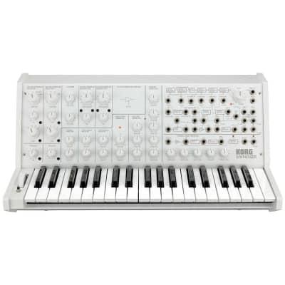 Korg MS-20 FS Monophonic Analog Synthesizer, 2 Oscillators, 37 Mini-Keys, White