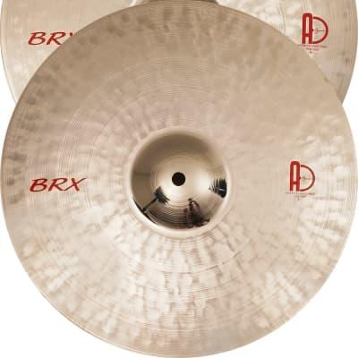 """Agean Cymbals  13"""" Brx Medium Hi-hat"""