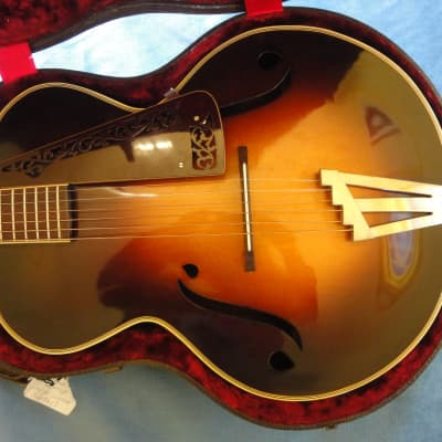Paramount Custom 1930s Archtop made for Eugene Pingitore 1935 Sunburst for sale