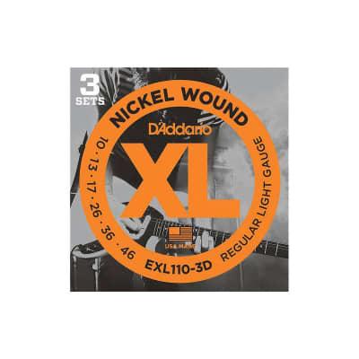 D´Addario EXL110-3D 10-46 Electric Strings Set