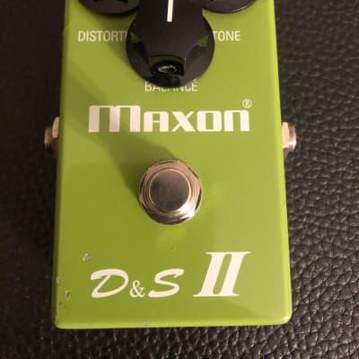 Maxon D&S II Distortion & Sustain 90s Reissue Made In Japan  1990s Green